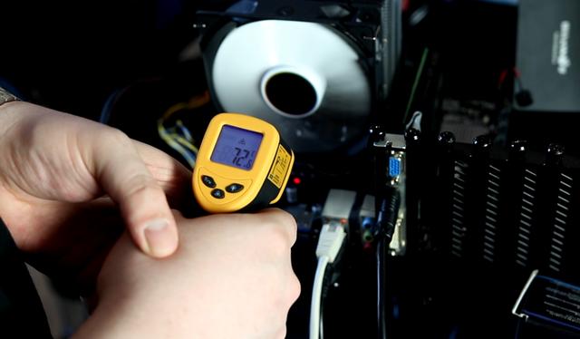 Asus Prime H310M-K - temperatura laminatu
