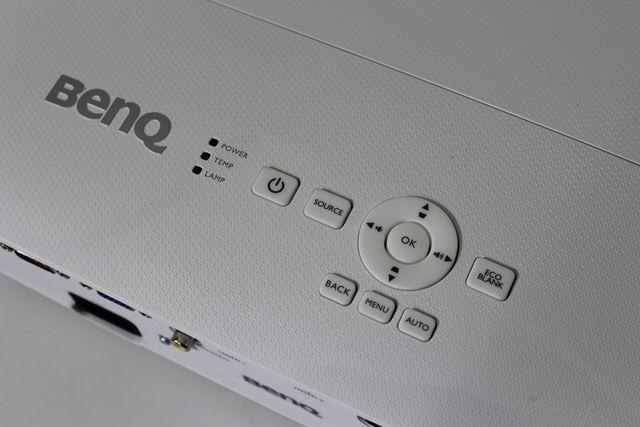 Benq W1050 - Panel Górny