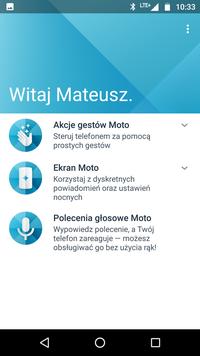 Moto Z2 Play - opcje Moto