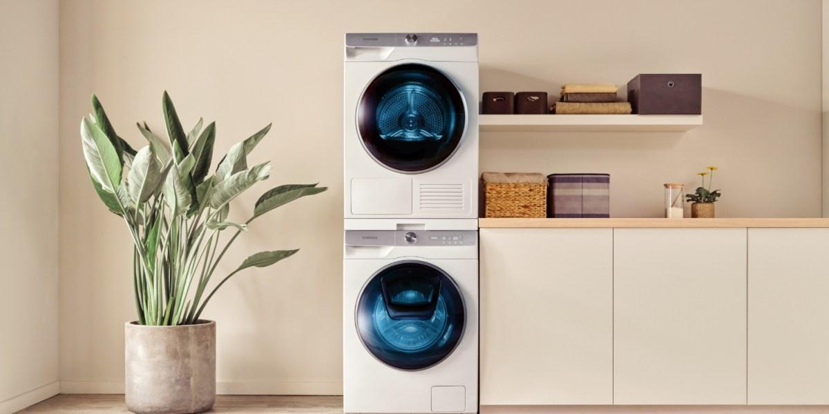Pralki Samsunga obsługują inteligentne pranie i synchronizują się z suszarkami