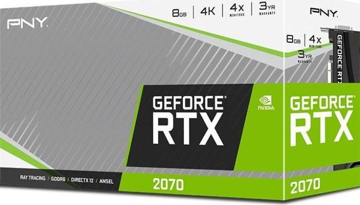 PNY Technologies GeForce RTX 2070 Blower, 8GB GDDR6, 256-bit