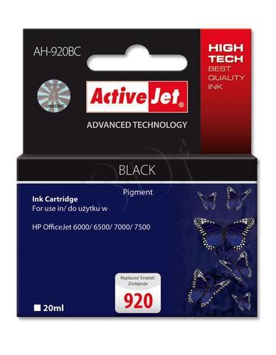 ActiveJet AH-920BC tusz czarny do drukarki HP (zamiennik HP 920 CD971AE) Premium