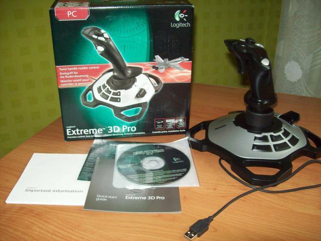 Logitech Extreme 3D Pro 1