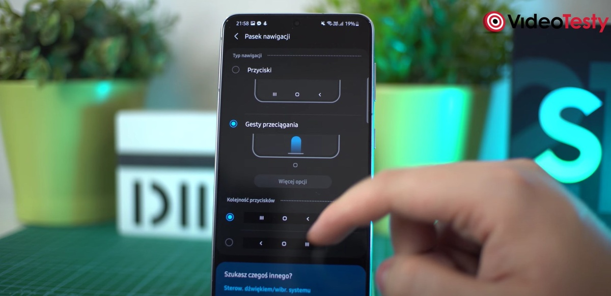Mnogość funkcji w ustawieniach Samsung okiełznał w dobrym stopniu