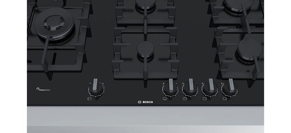 czarna płyta gazowa Bosch