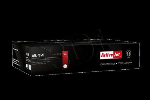 ActiveJet ATK-715N toner Black do drukarki Kyocera (zamiennik Kyocera TK-715N) Supreme