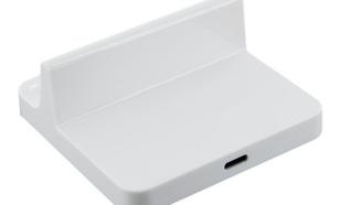 4World Stacja dokująca dla iPad 4/iPad mini| Lightning|biała