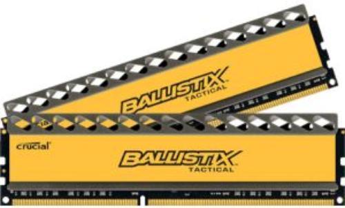 Crucial DDR3 Ballistix Tactical 16GB/1600 (2*8GB) CL8-8-8-24