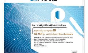 Actis KL-16R tusz czarny do drukarki Lexmark (zamiennik Lexmark 16 10N0016) Standard