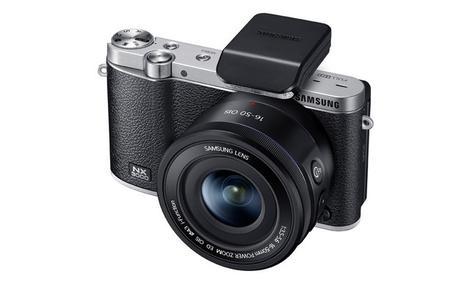 Samsung SMART NX3000 - kompaktowy aparat w stylu retro