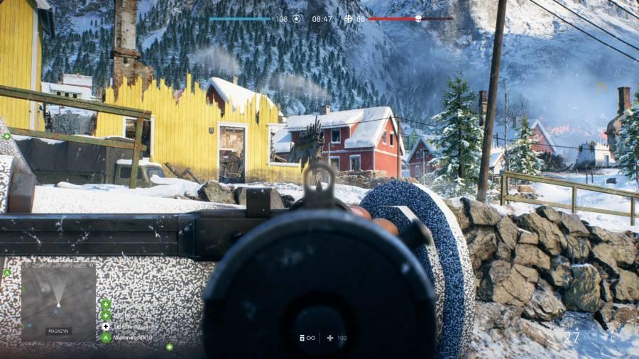 Battlefield V - Destrukcja otoczenia