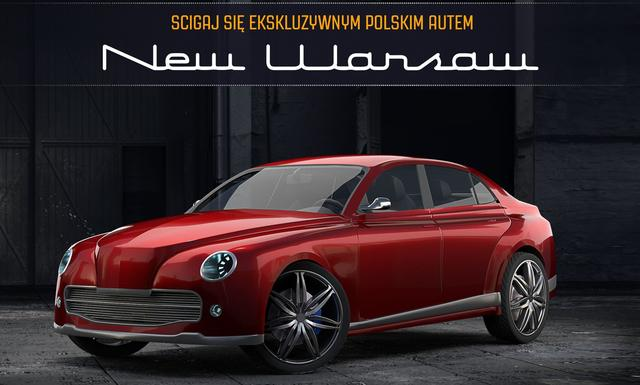 Nowa Warszawa w Mobilnej Grze Top Speed