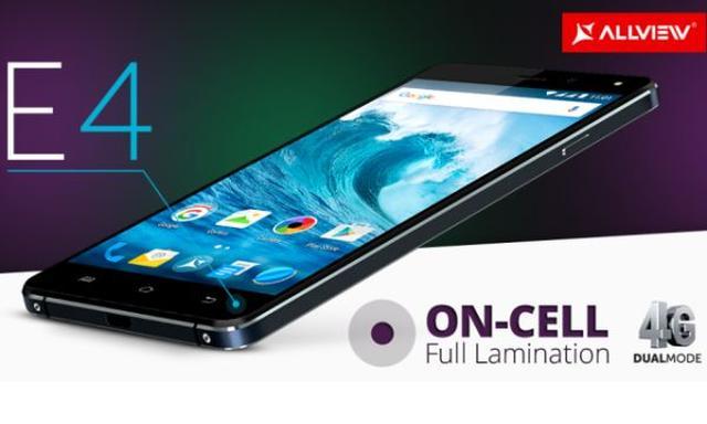 Allview E4 i E4 Lite - Smartfon Źródłem Rozrywki