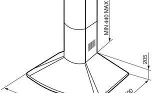 Smeg KSE66P9 okap kominowy