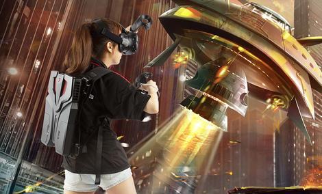 MSI VR One – Komputer w Plecaku Do VR