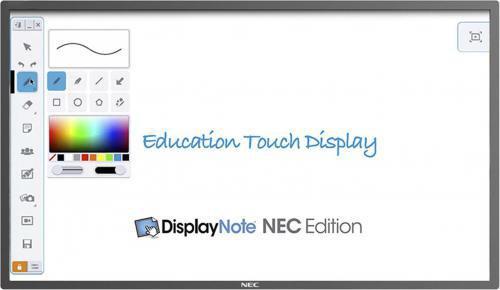 """dotykowy NEC 60004181 ( 65"""" ; dotykowy Direct LED S-PVA ; FullHD 1920x1080 ; czarny )"""