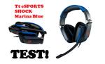 Tt eSPORTS by Thermaltake Shock Marina Blue - dobre słuchawki w dobrej cenie!
