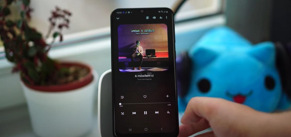 Wygląd aplikacji Samsung Music nie zmienia się od lat