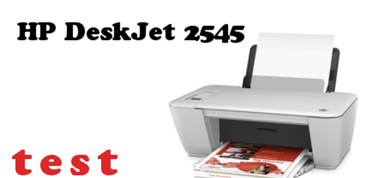 HP DeskJet 2545 Test Urządzenia Wielofunkcyjnego