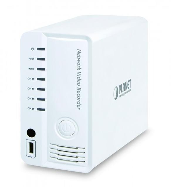 4 kanałowy sieciowy rejestrator wideo z HDMI marki Planet Technology