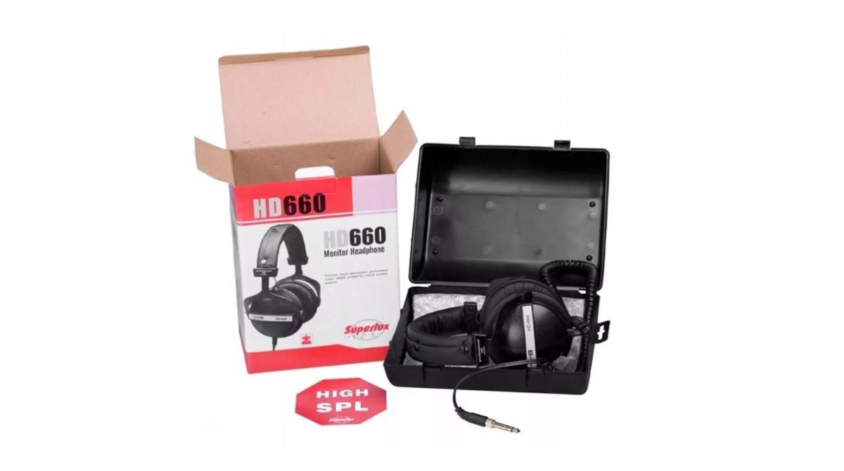 Superlux HD660 w pudełku