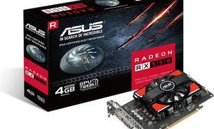 Asus Radeon RX 550 4GB GDDR5 (128 bit), DVI-D, HDMI, DisplayPort, BOX (RX550-4G)