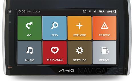 Mio Moov - seria funkcjonalnych nawigacji GPS