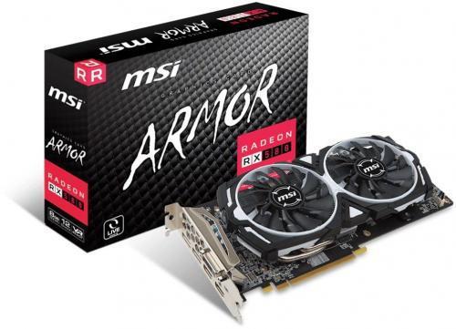MSI Karta VGA MSI RX 580 ARMOR 8GB GDDR5 256bit DVI+2xHDMI+2xDP PCIe3.0