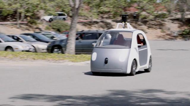 auta bez kierownicy od Google