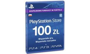 Sony PlayStation Live Cards 100 PLN