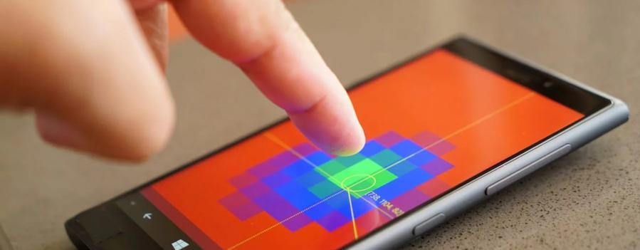 Nokia McLaren pokazywała nową technologię bezdotykowej interakcji (źródło: Windows Central)