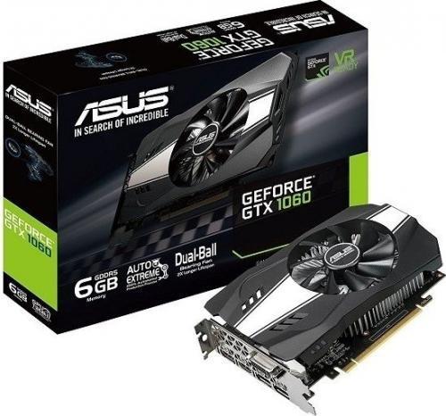 Asus NVIDIA GeForce GTX 1060 6 GB PCIE 3.0 16x GDDR5 8008 MHz GPU