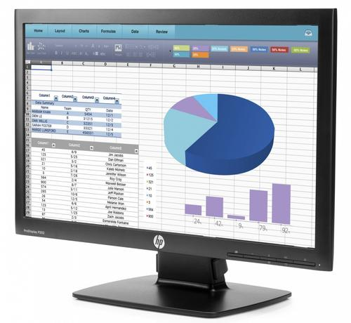 "HP 20"" ProDisplay P202 Monitor K7X27AA"
