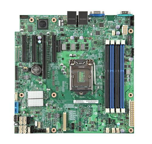 Intel SUPER CENA !!! S1200V3RPL płyta C224/LGA1150/ 4xUDIMM/2xLAN/RAID/uATX/mng. (opcja)