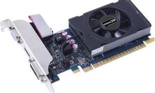 Inno3D GeForce GT 730 2GB GDDR5 (64 bit) D-Sub, DVI, HDMI (N730-3SDV-E5BX)