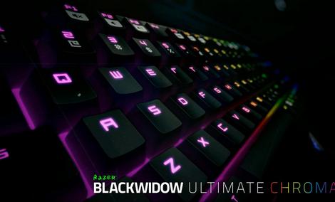 Razer Chroma - Prezentujemy Podświetlenie Najnowszej Wersji Klawiatury BlackWidow Ultimate