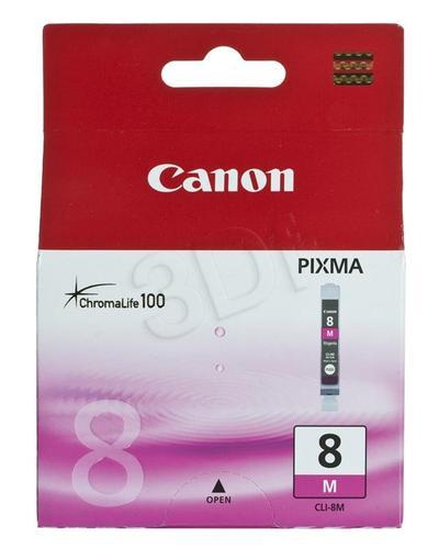 CANON Tusz Czerwony CLI-8M=CLI8M=0622B001, 420 str.