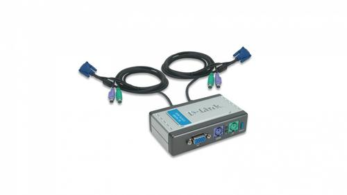 D-Link DKVM-2K 2xK/V/M 2048x1536/w.cables