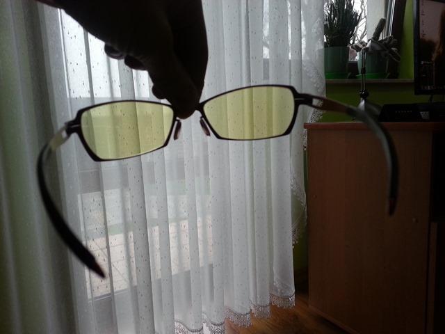 Okulary Gunnar Sync red Fire Amber tył