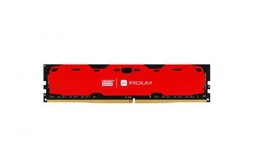 GOODRAM IRDM 4GB czerwony [1x4GB 2400MHz DDR4 CL 15-15-15 512x8 DIMM] ..