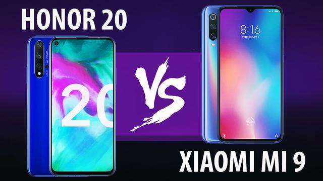 Honor 20 vs Xiaomi Mi 9 - Fotograficzne starcie