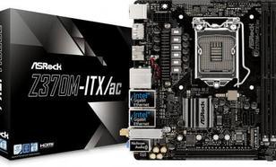 ASRock ASRock Z370M-ITX/ac (90-MXB620-A0UAYZ)
