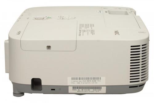 NEC Projektor LCD P451W WXGA, 4500ANSI, 4000:1 semi professional