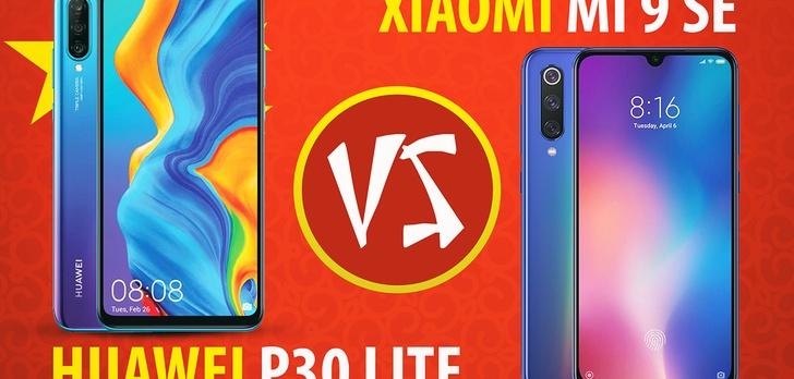 Test i porównanie chińskich flagowców lite - Huawei P30 Lite i Xiaomi Mi 9 SE