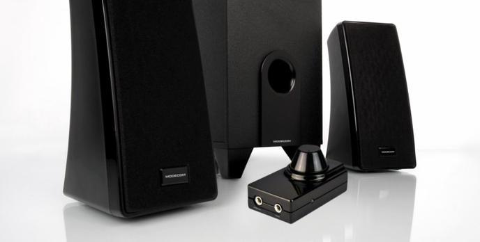 Tanie głośniki do komputera firmy MODECOM