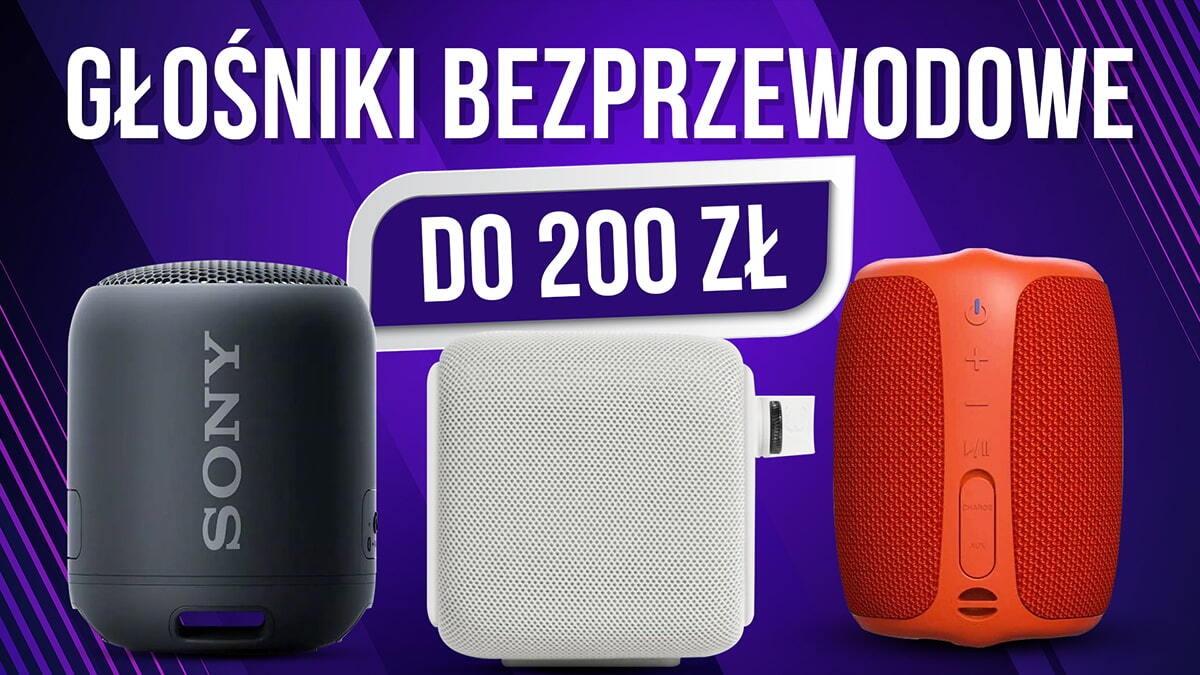 Jaki głośnik bezprzewodowy do 200 zł? | TOP 7 |