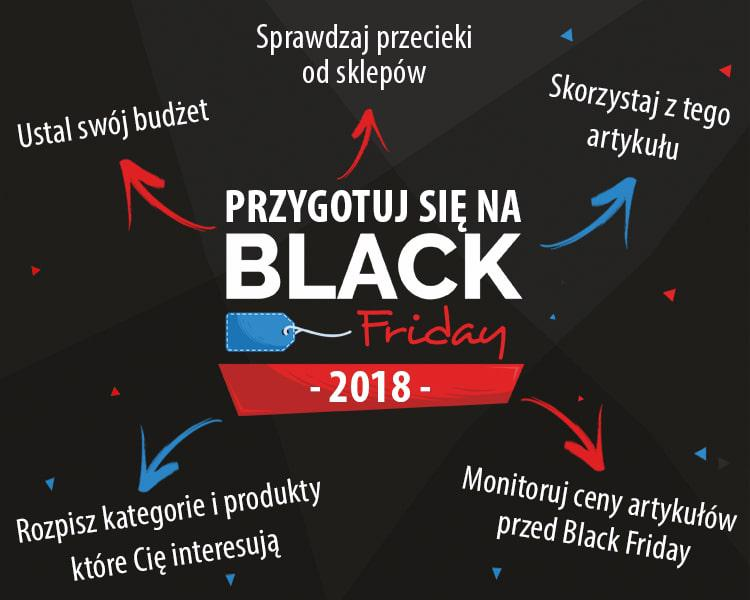 jak przygotowac sie na black friday infografika