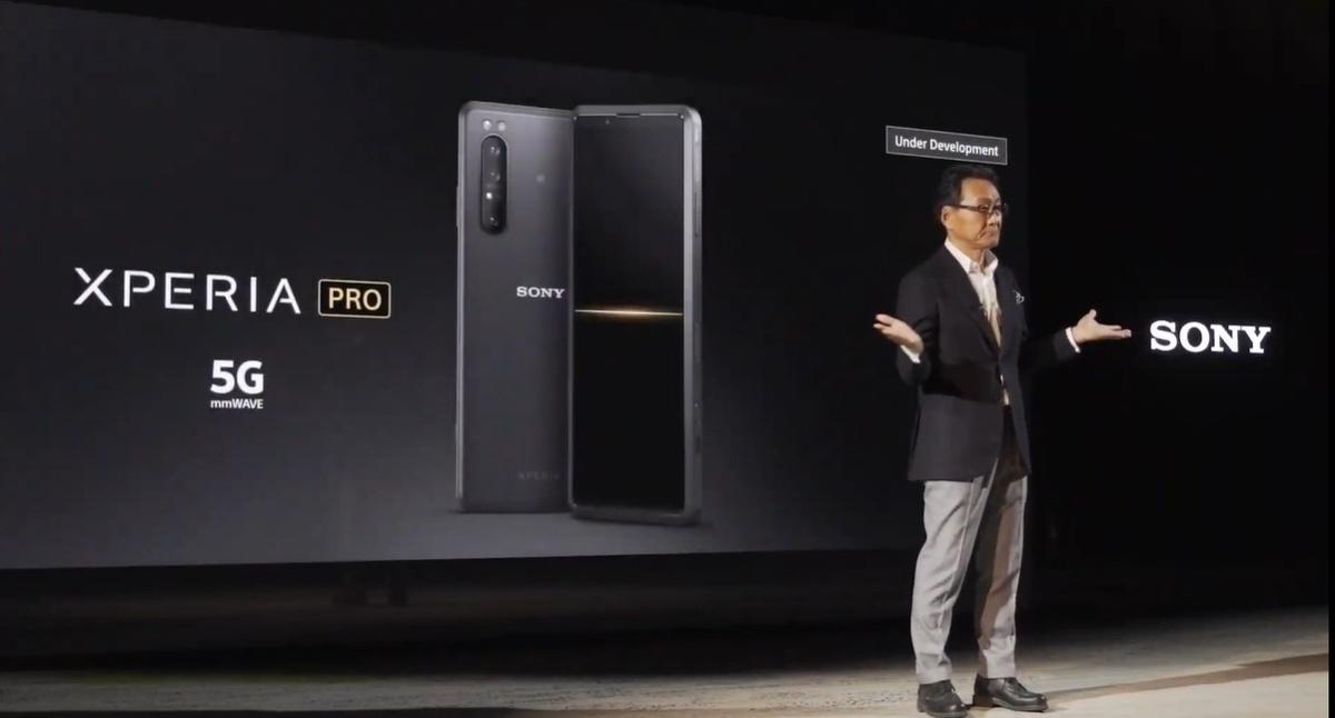 Sony Xperia Pro to projekt w fazie rozwoju