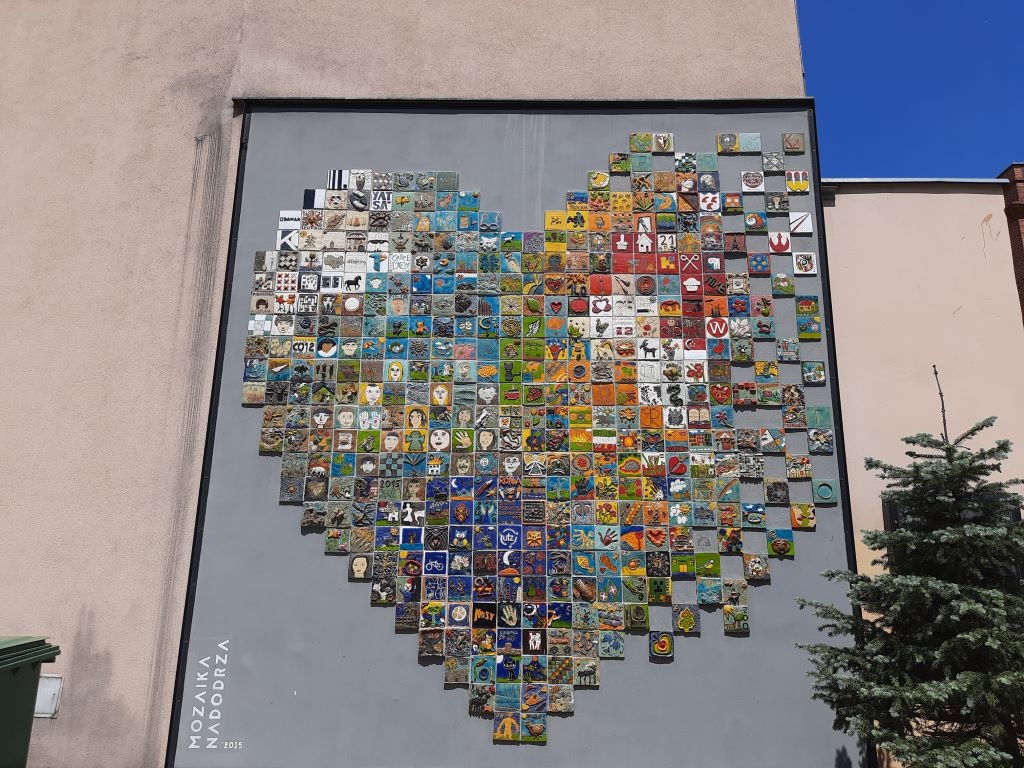Zdjęcie mozaiki z Samsunga Galaxy M21