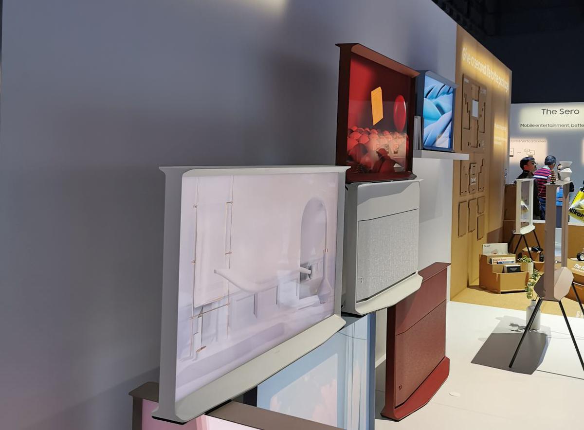 Telewizor Serif od Samsunga to innowacyjne podejście do designu